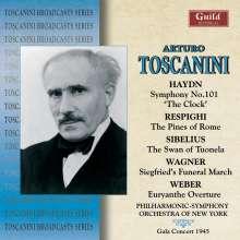 Arturo Toscanini dirigiert das New York Philharmonic Orchestra, CD