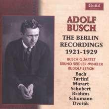 Adolf Busch  - The Berlin Recordings 1921-1929, 2 CDs
