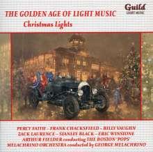 The Golden Age Of Light Music: Christmas Lights, CD