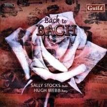 Sally Stocks - Back to Bach, CD