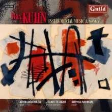 Max Kuhn (1896-1994): Lieder und Instrumentalstücke, CD