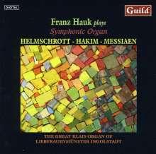 Franz Hauk plays Symphonic Organ, CD
