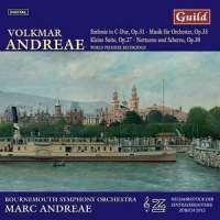 Volkmar Andreae (1879-1962): Symphonie in C op.31, CD