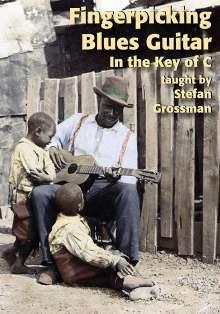 Stefan Grossman: Fingerpicking Blues.., DVD