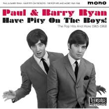 Paul Ryan & Barry: Have Pity On The Boys! (The Pop Hits 1965 - 1968), CD