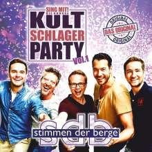 Stimmen Der Berge: Sing mit - die große Kultschlager Party Vol. 1, CD