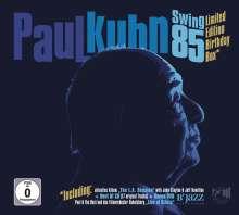Paul Kuhn (1928-2013): Swing 85 (Limited Edition Birthday Box) (2CD + DVD), 2 CDs und 1 DVD