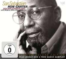 Ron Carter (geb. 1937): San Sebastian: Live 22.7.2010 (Limited Deluxe Edition) (CD + DVD), 1 CD und 1 DVD