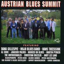 Austrian Blues Summit, CD