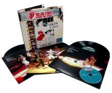 The Rolling Stones: From The Vault: Hampton Coliseum (Live in 1981) (180g), 3 LPs und 1 DVD
