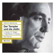 Heinrich August Marschner (1795-1861): Der Templer und die Jüdin, 2 CDs