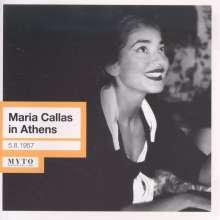 Maria Callas in Athen, CD