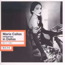 Maria Callas rehearses in Dallas, CD