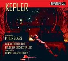 Philip Glass (geb. 1937): Kepler, 2 CDs