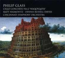 "Philip Glass (geb. 1937): Cellokonzert Nr.2 ""Naqoyqatsi"", CD"