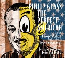 Philip Glass (geb. 1937): The Perfect American, 2 CDs