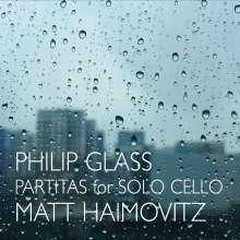 Philip Glass (geb. 1937): Partiten Nr. 1 & 2 für Cello solo, CD