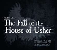 Philip Glass (geb. 1937): The Fall of the House of Usher (Oper), 2 CDs