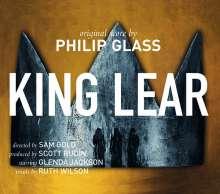 Philip Glass (geb. 1937): King Lear (Version für Streichquartett 2019), CD