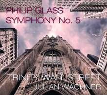 Philip Glass (geb. 1937): Symphonie Nr.5, 2 CDs und 1 DVD