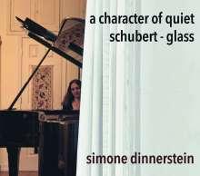Simone Dinnerstein - A Character of Quiet (Schubert / Glass), CD