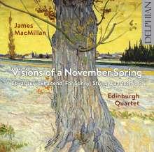 James MacMillan (geb. 1959): Streichquartette Nr.1 & 3, CD