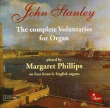 John Stanley (1713-1786): Complete Organ Voluntaries, 2 CDs
