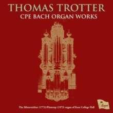 Carl Philipp Emanuel Bach (1714-1788): Orgelsonaten Wq.70 Nr.3-6, CD
