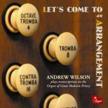 Andrew Wilson - Let's Come To an Arrangement, CD