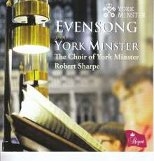 York Minster Choir - Evensong, CD