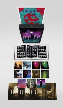 Porcupine Tree: The Delerium Years 1991 - 1997 (Limited Edition Boxset), 13 CDs