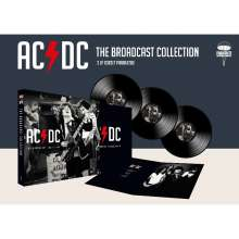 AC/DC: The Broadcast Collection, 3 LPs