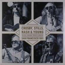 Crosby, Stills, Nash & Young: The Bill Graham Tribute Concert, LP