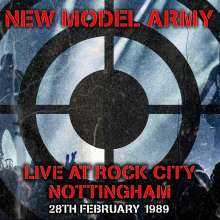New Model Army: Live At Rock City Nottingham 28th February 1989, 2 LPs