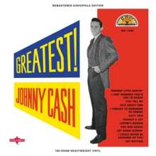 Johnny Cash: Greatest! (remastered) (180g) (Limited-Edition) (Colored Vinyl), LP