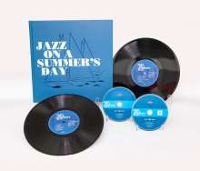 "Filmmusik: Jazz On A Summer's Day (60th Anniversary Deluxe Edition) (Limited Edition), 1 CD, 1 DVD, 2 Singles 10"" und 1 Buch"