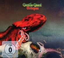 Gentle Giant: Octopus (5.1 & 2.0 Steven Wilson Mix), 1 CD und 1 Blu-ray Disc