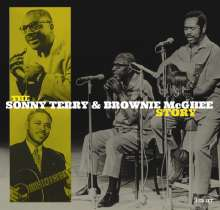 Sonny Terry & Brownie McGhee: The Sonny Terry & Brownie McGhee Story, 4 CDs