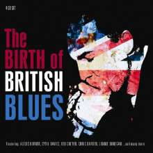 The Birth Of British Blues, 4 CDs