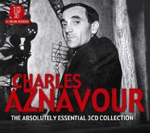 Charles Aznavour (1924-2018): Absolutely Essential, 3 CDs
