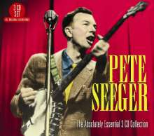 Pete Seeger: The Absolutely Essential Collection, 3 CDs
