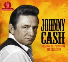 Johnny Cash: Absolutely Essential, 3 CDs