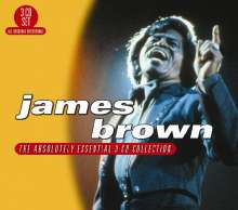 James Brown: Absolutely Essential, 3 CDs