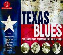 Texas Blues: Absolutely Essential Collection, 3 CDs