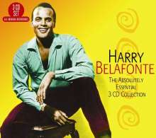 Harry Belafonte: The Absolutely Essential, 3 CDs