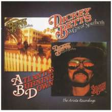 Dickey Betts: Arista Recordings: Great Southern / Atlanta's Burning Down, CD
