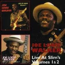 Joe Louis Walker: Live At Slim's Volumes 1 & 2, 2 CDs