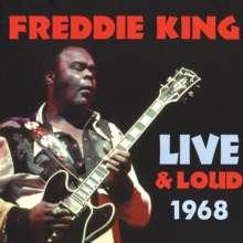 Freddie King: Live & Loud 1968, CD