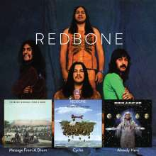 Redbone: Potlatch / Message From A Drum / Cycles, 2 CDs