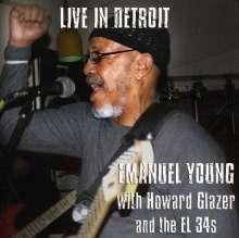 Emanuel Young: Live In Detroit Emanuel Young, CD